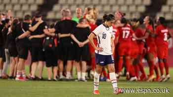 USWNT devoid of chemistry as Olympic gold chance slips away