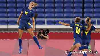 Sweden through to Olympic final as Australia  miss out