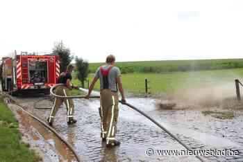 Brandweer spuit de Haaghoek proper
