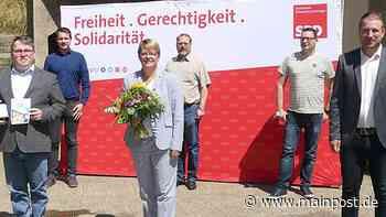 Sömmersdorf Martina Braum führt die Kreis-SPD Schweinfurt - Main-Post