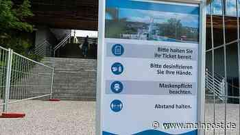 Impfwillige mussten eine Stunde vorm Silvana in Schweinfurt warten - Main-Post