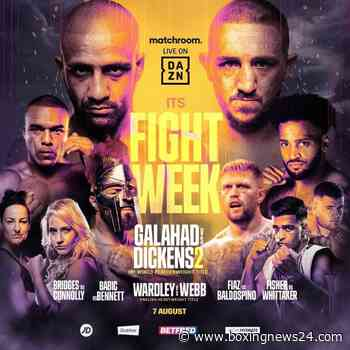 Jazza  Dickens rematches Kid Galahad for IBF Featherweight crown on Aug. 7