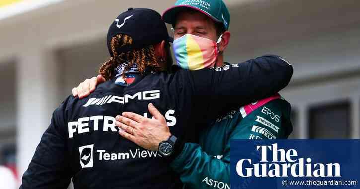 Lewis Hamilton backs Sebastian Vettel after F1 body's T-shirt reprimand