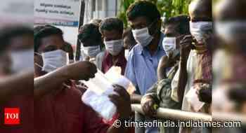 Coronavirus live updates: Test positivity rate in Kerala dips below 11% - Times of India