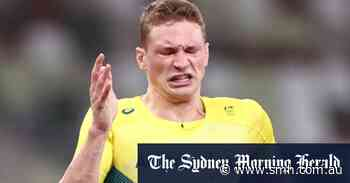 Solomon just misses out on 400m final, but he's far from being left speechless