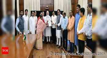 BJP MPs from Northeast meet PM Modi over Assam-Mizoram dispute