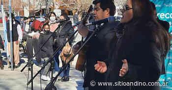 Intervención artística en Malargüe en honor a Ricardo Rojas - Sitio Andino
