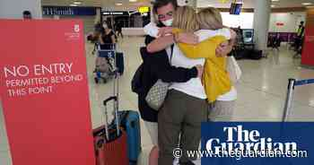 Tearful reunions at UK airports as Covid quarantine rules ease - The Guardian
