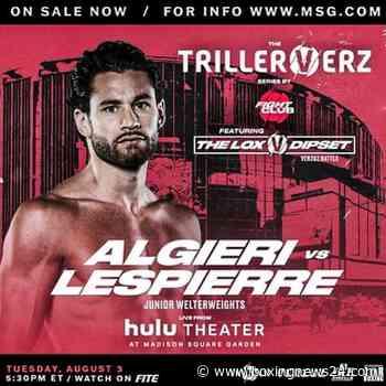 LIVE: Chris Algieri vs Mikkel Lespierre FITE TV Live Stream