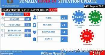 Coronavirus - Somalia: COVID-19 Situation Update (01 August 2021) - Africanews English