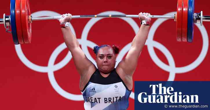 Britain's Emily Campbell wins historic Olympics weightlifting silver medal