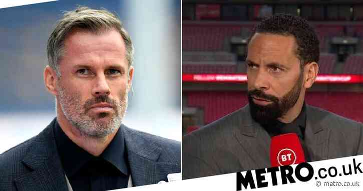 Jamie Carragher disagrees with Rio Ferdinand after Harry Kane skips Spurs training