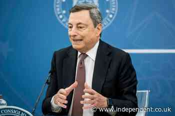 Italy's Draghi puts key justice reforms to confidence vote