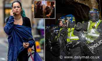 Woman, 20, denies urinating on police officer during 'Kill the Bill' riots in Bristol