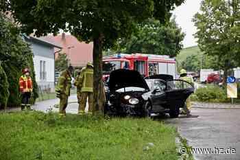 Verfolgung in Giengen: 19-Jähriger verursacht 17.000 Euro Schaden und flüchtet vor Polizei - Heidenheimer Zeitung