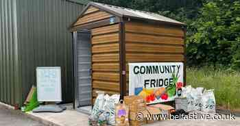 """Carrickfergus Community Fridge reducing food waste while creating """"a real buzz"""" in area - Belfast Live"""
