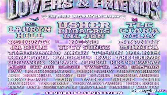 Go Fast: Lovers & Friends Festival Tickets On Sale Now, Usher, Ms. Lauryn Hill, & TLC Among Headliners