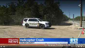 Four dead in helicopter crash in northern California