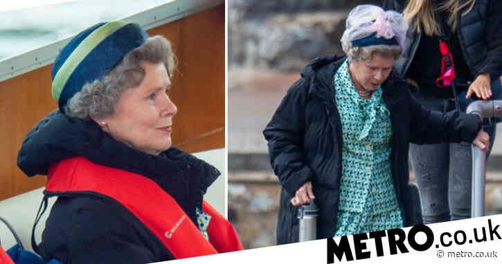 The Crown season 5: Imelda Staunton becomes Queen Elizabeth II as she's spotted on set for first time