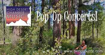 High Desert Chamber Music Pop-Up Concerts! | Center Plaza at the Old Mill District | Music - The Source Weekly