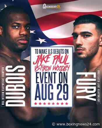 Daniel Dubois vs. Joe Cusumano & Tommy Fury vs. Anthony Taylor on August 29th in Cleveland