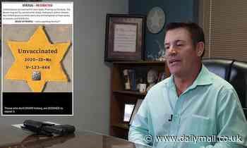 Oklahoma GOP chair compares vaccine passports to Nazis making Jews wear yellow stars