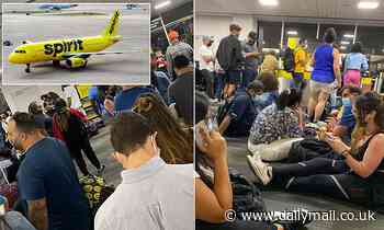 Spirit Airlines cancels several US flights because of 'weather and operational challenges'
