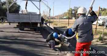 San Rafael renovó luminarias en y postes sobre Emilio Mitre - mendozapost.com