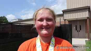Tatum Seyfert Wins 14YO Shot Put At AAU JOs   AAU Junior Olympics Games - MileSplit