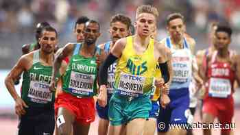 Could Stewart McSweyn end Australia's 60-year wait for Olympic gold in the 1,500m?