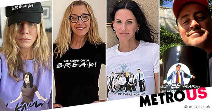 Friends cast launch official merch featuring their favorite quotes and could we be any more excited for this?