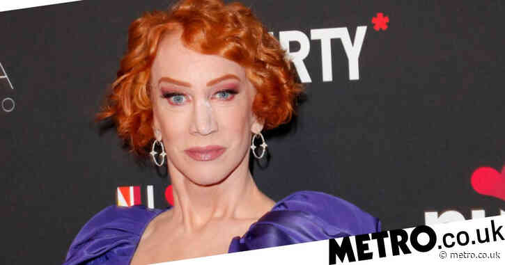 Kathy Griffin 'in recovery and resting' after lung cancer operation