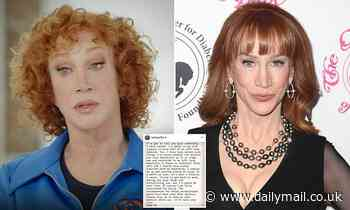 Kathy Griffin's surgery to remove part of her lung 'went well and as planned'