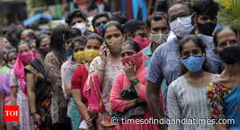 Coronavirus live updates: Weekly Covid cases up in Delhi, 12 other states - Times of India