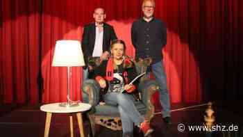 Lesung in Rendsburg: Blutig und spannend: Drei Krimi-Autoren sorgten für Gruselstimmung im Kinosaal | shz.de - shz.de