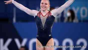 Carey wins floor US gold, Biles to return - Armidale Express
