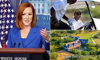 Psaki defends Obama's 500-person 60th birthday party when asked if it could spark a superspreader