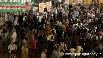 """Anche a Perugia è sceso in piazza il popolo del dissenso: no al green pass, sì la libertà di scelta terapeutica"""" - PerugiaToday"""