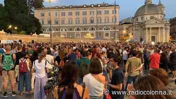 No Green pass, manifestazione flop in piazza del Popolo a Roma - Radio Colonna