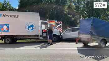 B 192 bei Malchow: Schwerer Verkehrsunfall mit mehreren Verletzten   svz.de - svz.de