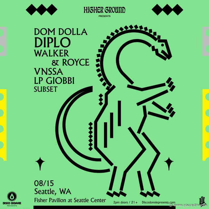 Disco Donnie Presents & Upper Left Team Up To Bring Diplo's Higher Ground Event To Seattle