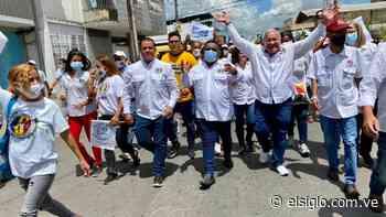 Caminata adeca recorrió las calles del centro de Cagua - Diario El Siglo