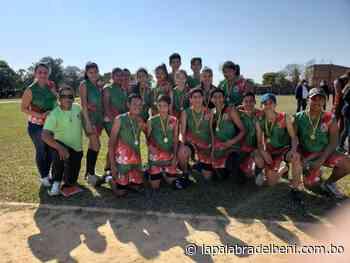 Trinidad campeón interprovincial de atletismo U-16 en Santa Ana del Yacuma - La Palabra del Beni