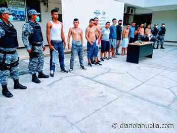 Plan Control Territorial captura 12 pandilleros en Ciudad Real, Santa Ana - Diario La Huella