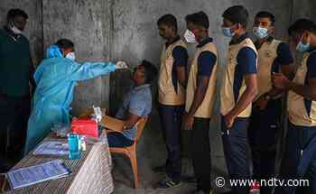Coronavirus India LIVE Updates: 40,134 New Cases, 422 Deaths Reported On Monday - NDTV