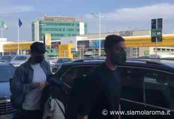 Shomurodov e Cristante in partenza da Fiumicino per il Portogallo (VIDEO) - Siamo la Roma