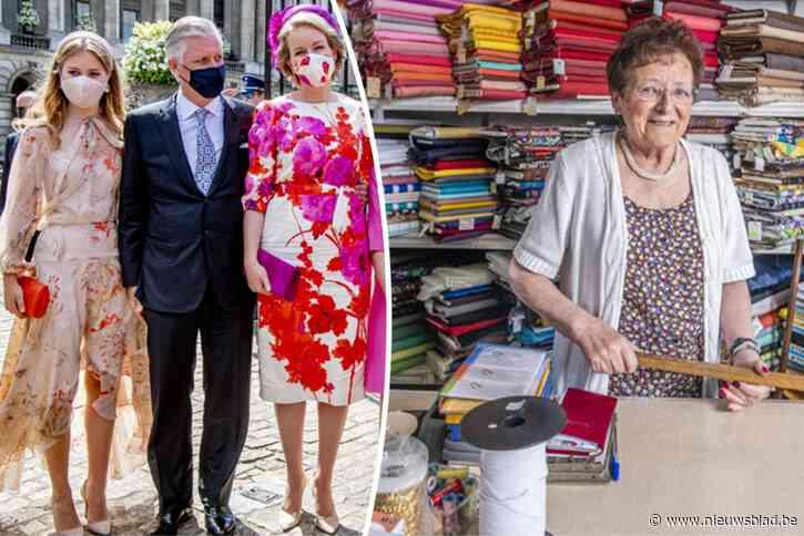 """""""Hoe de broek van Filip hing op het defilé, dat was geen reclame"""": hofleverancier Lena (86) stopt ermee na drie generaties klanten"""