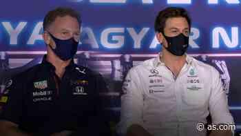 El penúltimo enganchón entre Mercedes y Red Bull - AS