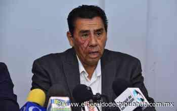 Lamenta Martín Chaparro apatía de la gente en la consulta - El Heraldo de Chihuahua