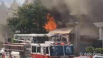 West Philadelphia fire: 2 dead, 2 injured after fire spreads to 5 homes on Chestnut Street - WPVI-TV